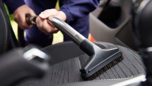 limpiar el coche para el coronavirus