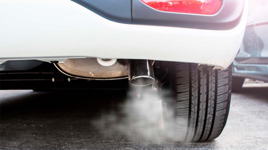 humo blanco en motor diésel